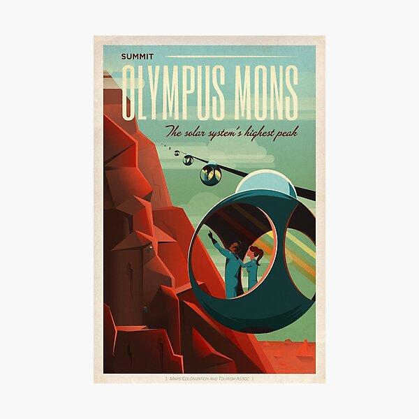 Olympus Mons Photographic Print
