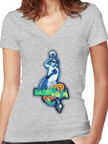 based jam 2 Women's Fitted V-Neck T-Shirt