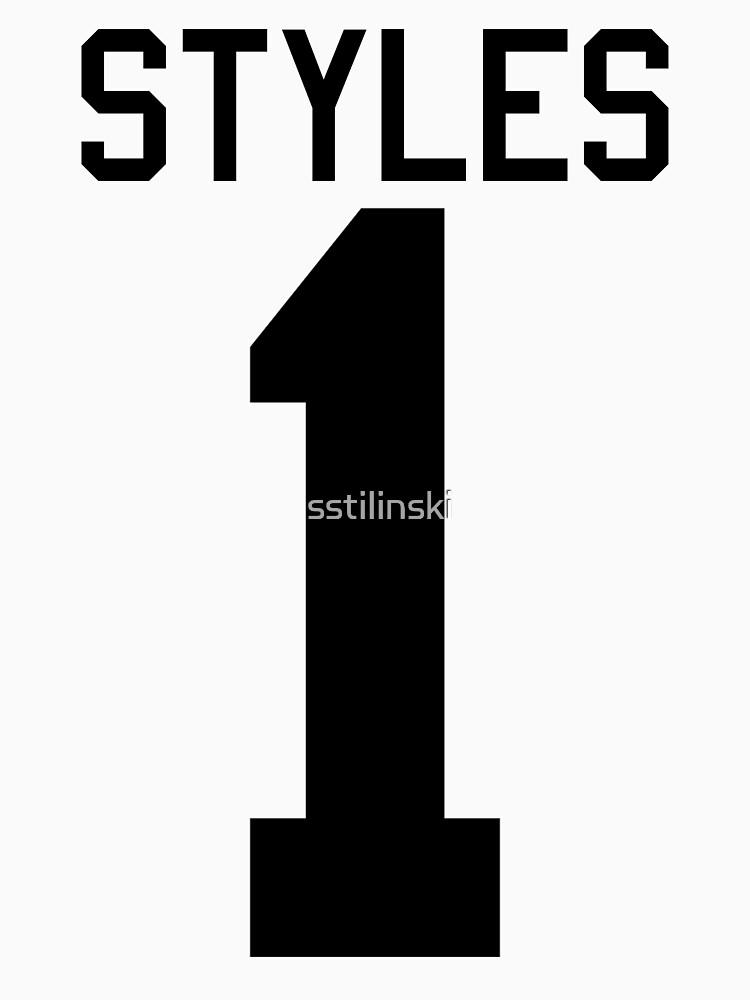 Harry Styles jersey (black text) | Women's T-Shirt