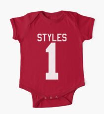 Harry Styles jersey (white text) One Piece - Short Sleeve