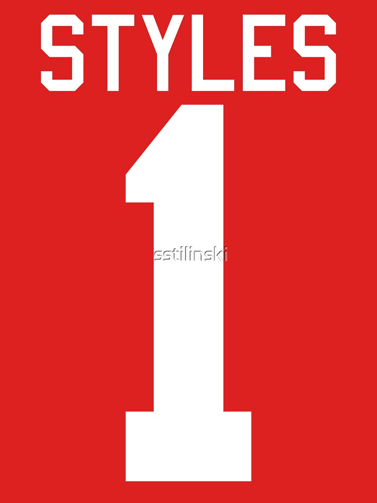 Harry Styles jersey (white text) | Women's T-Shirt