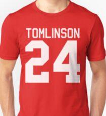 Louis Tomlinson jersey (white text) Unisex T-Shirt