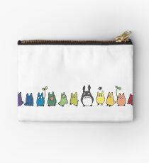 Rainbow Totoro Studio Pouch