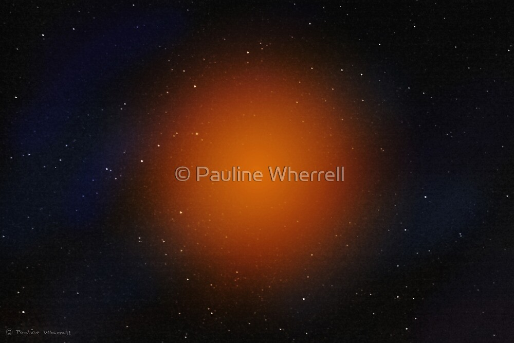 Outer space abstract by © Pauline Wherrell