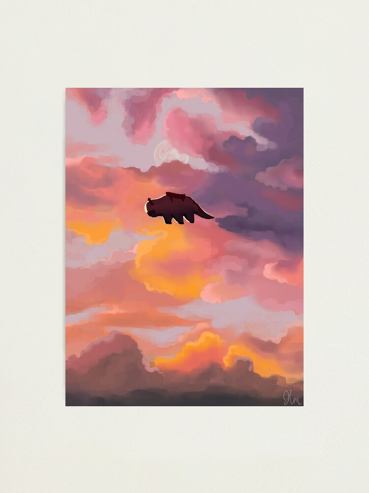 Alternate view of Appa in the Clouds Photographic Print