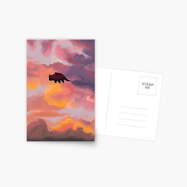 Appa in the Clouds Postcard