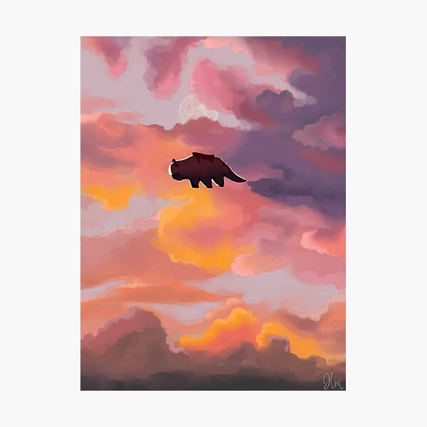 Appa in the Clouds Photographic Print