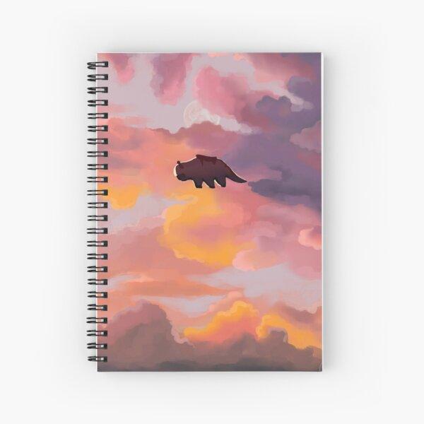 Appa in the Clouds Spiral Notebook