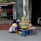 small business, smaller business. by geof