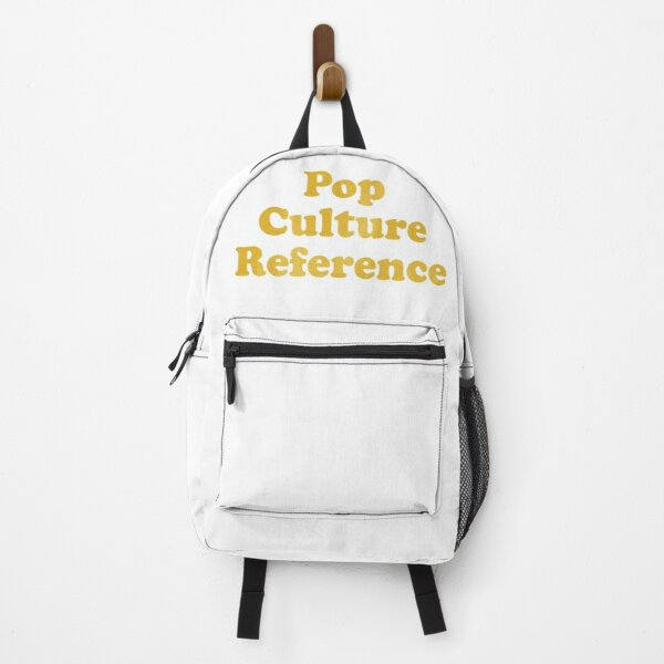 Pop Culture Reference Backpack