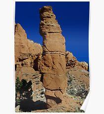 Kodachrome rock tower, Utah Poster