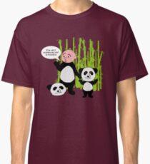 I'm not wanking off a Panda - Karl Pilkington T Shirt Classic T-Shirt