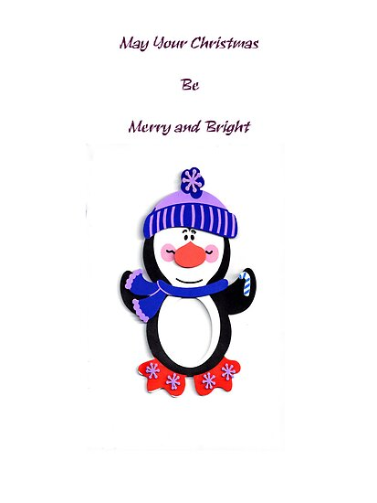 Penguin Christmas by designingjudy