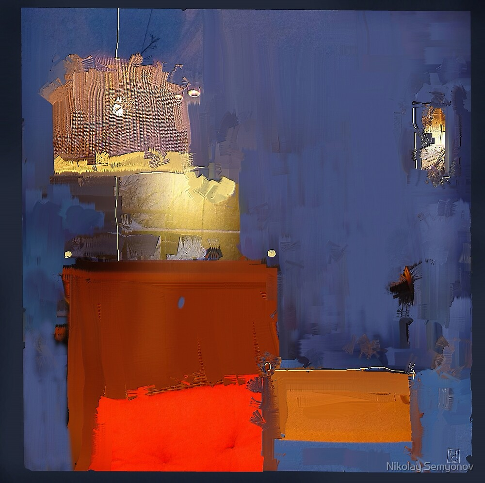 chairs. bright light by Nikolay Semyonov