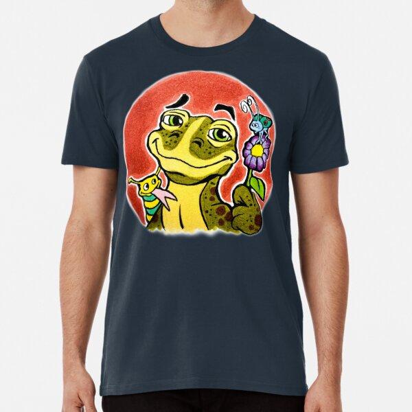 TonyToons Alexander Salamander Character Design Premium T-Shirt