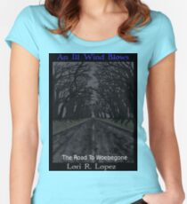 THE ROAD TO WOEBEGONE Women's Fitted Scoop T-Shirt