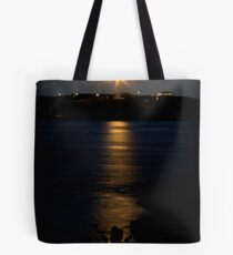 Silent sentinel - Currie lighthouse Tote Bag