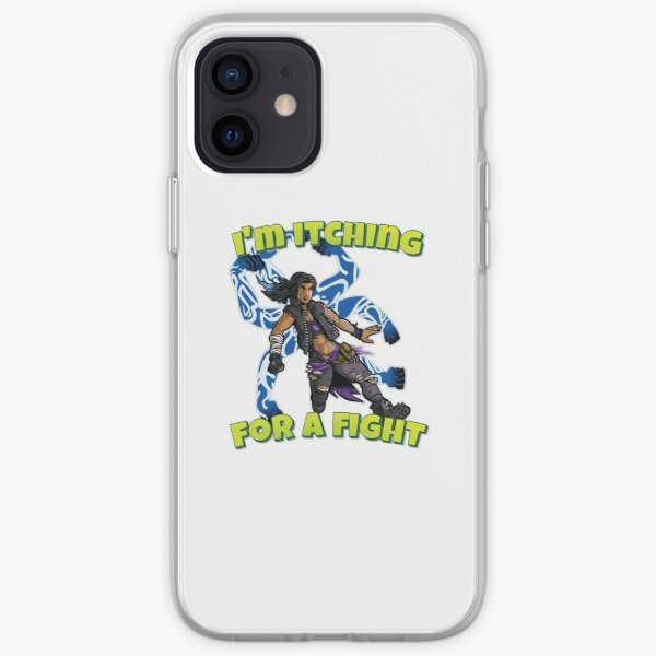 I'm Itching For A Fight Amara The Siren Borderlands 3 The Tiger of Partali iPhone Soft Case