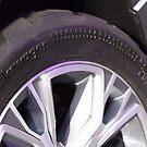 Volkswagen Taigun tire [ Print & iPad / iPod / iPhone Case ] by Mauricio Santana
