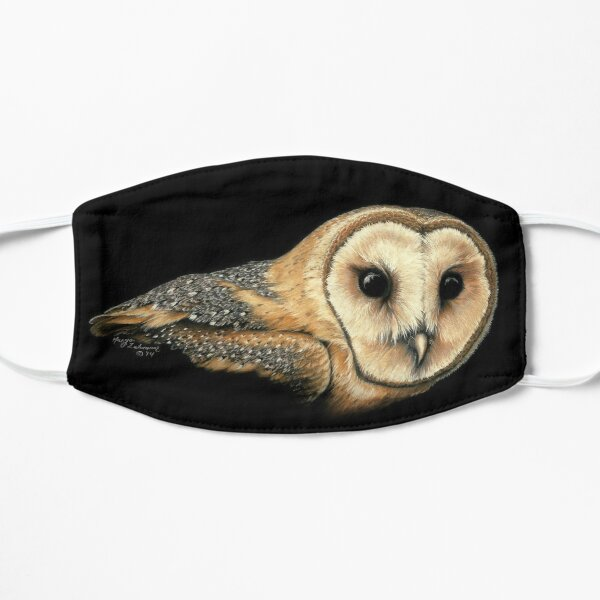 Amadan the Barn Owl Flat Mask