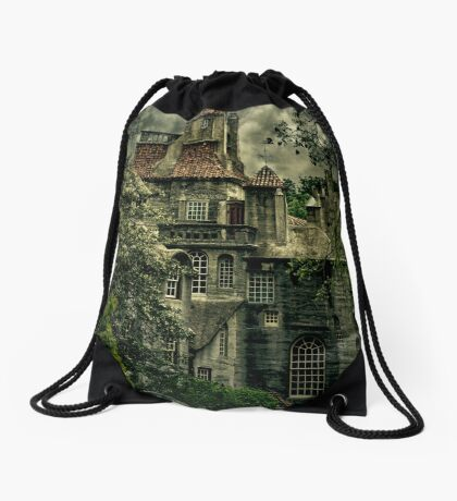Fonthill with Storm Clouds Drawstring Bag