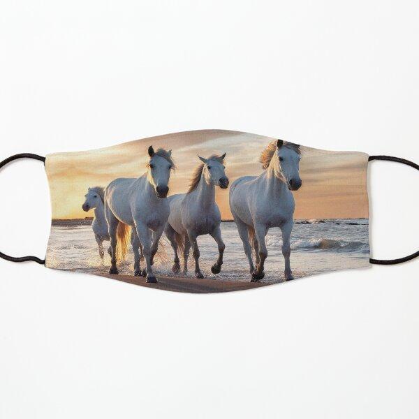Horses in sunset  Kids Mask