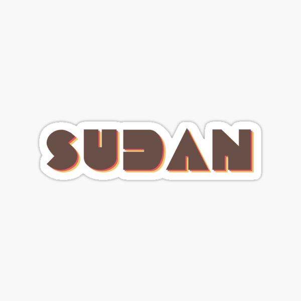 Sudan! Sticker