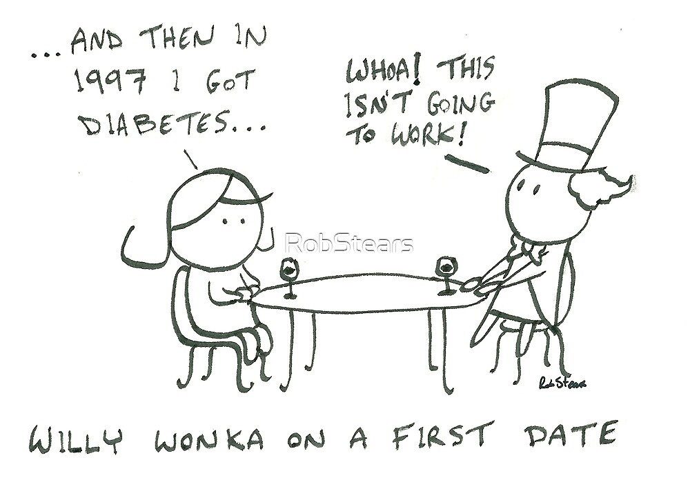 Willy Wonka on a first date by RobStears
