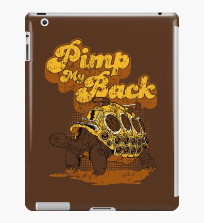 Pimp My Back iPad Case/Skin