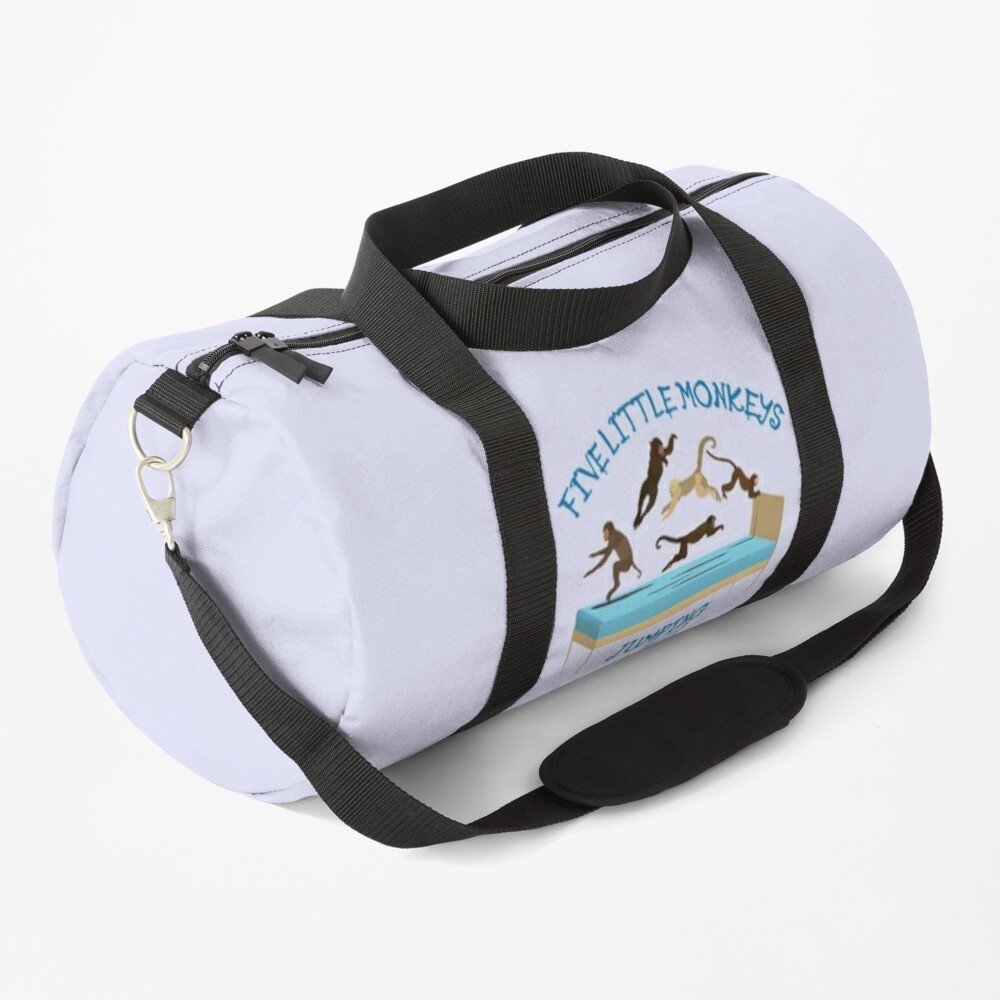 NDVH Five Little Monkeys Jumping on the Bed! Duffle Bag