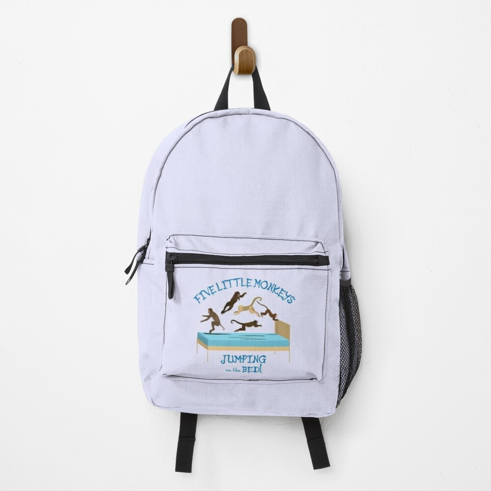 NDVH Five Little Monkeys Jumping on the Bed! Backpack