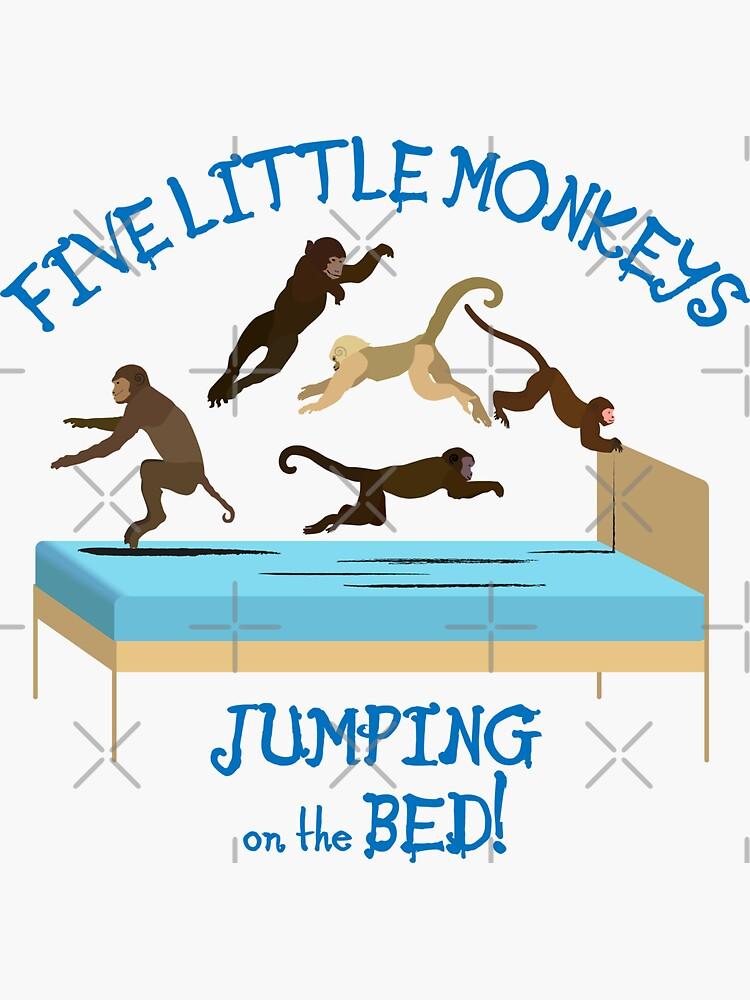NDVH Five Little Monkeys Jumping on the Bed! by nikhorne