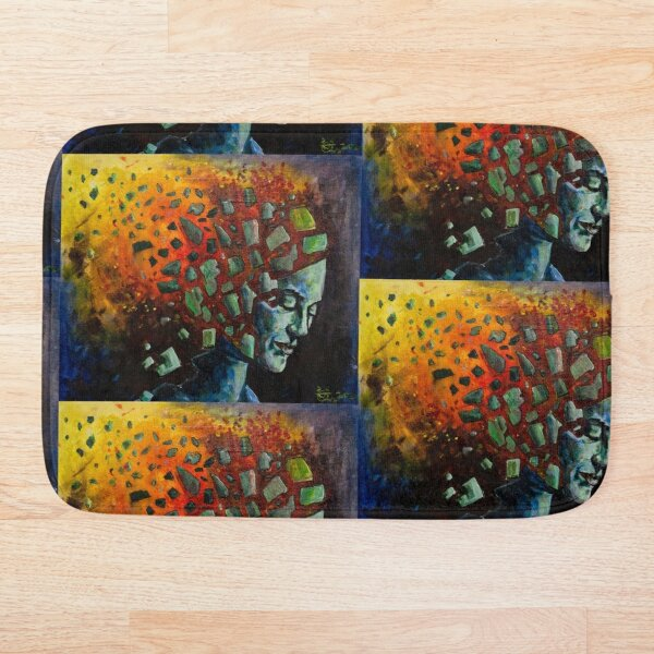 Disintegration Bath Mat