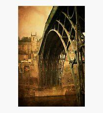 Iron Bridge Telford Photographic Print