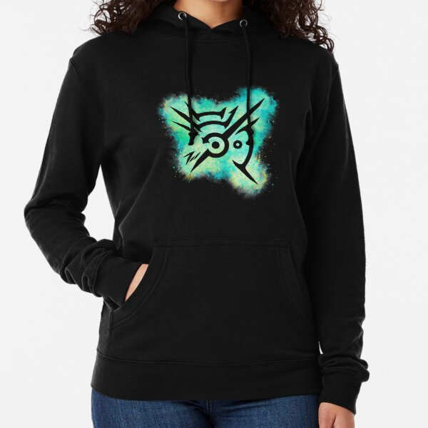 Dishonored Mark of the Outsider Watercolor Explosion Lightweight Hoodie