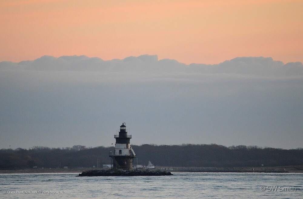 Lighthouse | Orient Point, New York by © Sophie W. Smith