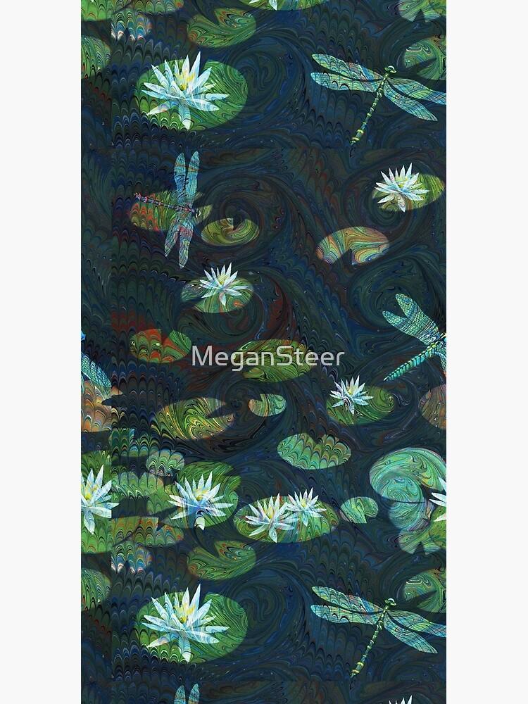 Dragonfly Garden by MeganSteer