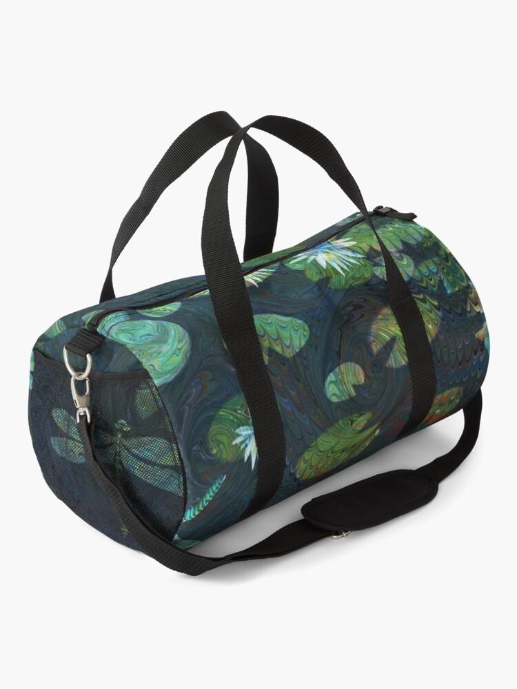 Alternate view of Dragonfly Garden Duffle Bag