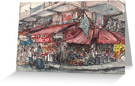 North Point street market by Adolfo Arranz