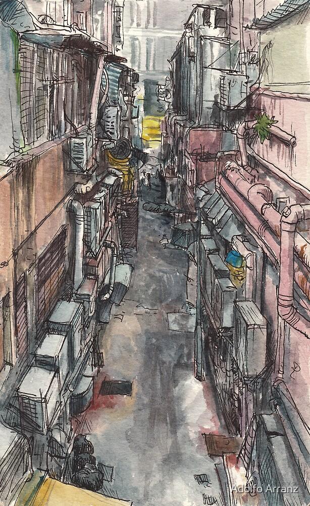 Back alley by Adolfo Arranz