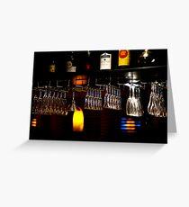 Glassware Greeting Card