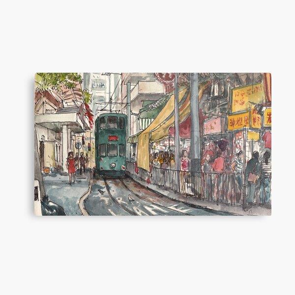 Tram terminus Metal Print