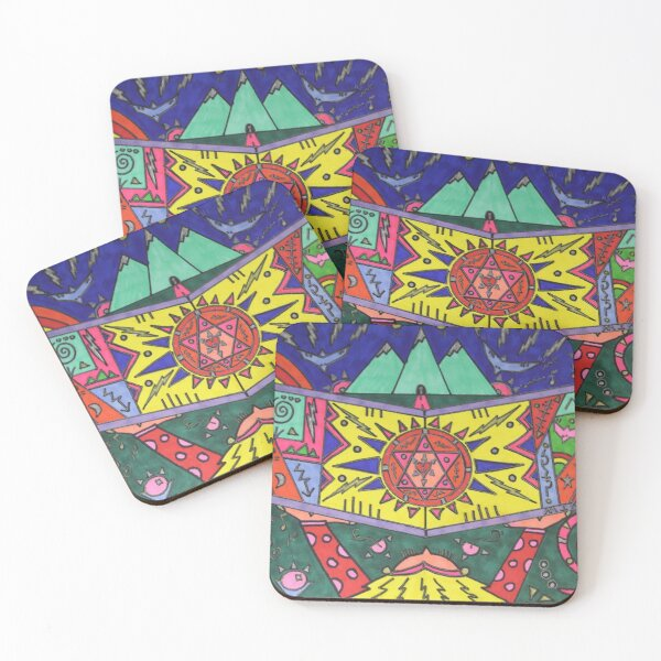 Book of Revelations Coasters (Set of 4)
