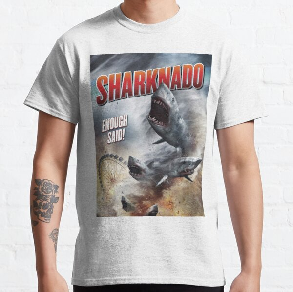 SHARKNADO MOVIE POSTER - SHARKS Classic T-Shirt