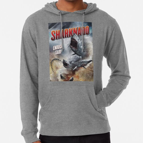 SHARKNADO MOVIE POSTER - SHARKS Lightweight Hoodie