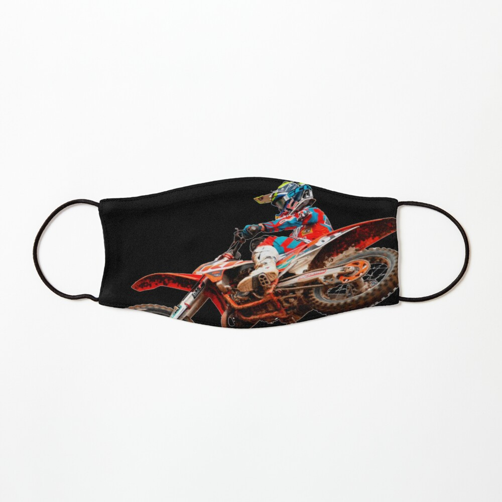 Dirt Bike Jumping Ktm Mask