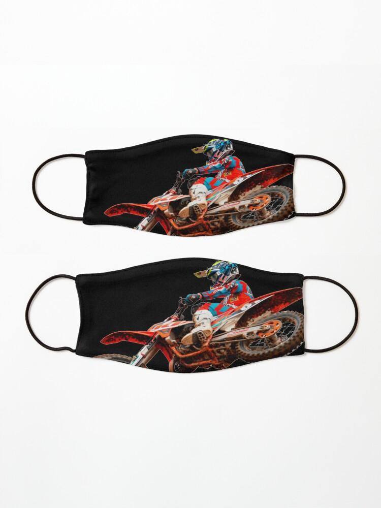 Alternate view of Dirt Bike Jumping Ktm Mask