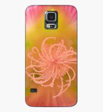 Hollyhock Macro Case/Skin for Samsung Galaxy