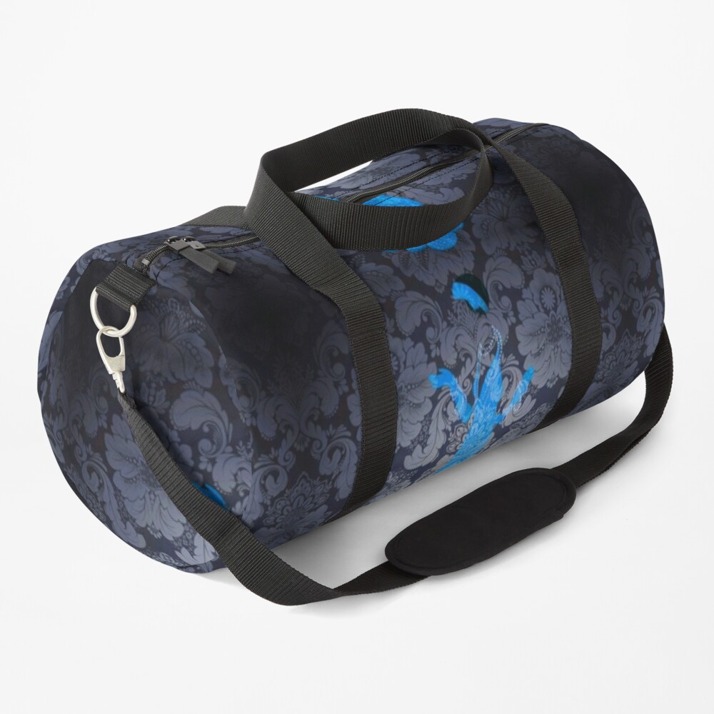 The Blue Ghost Downstairs Duffle Bag