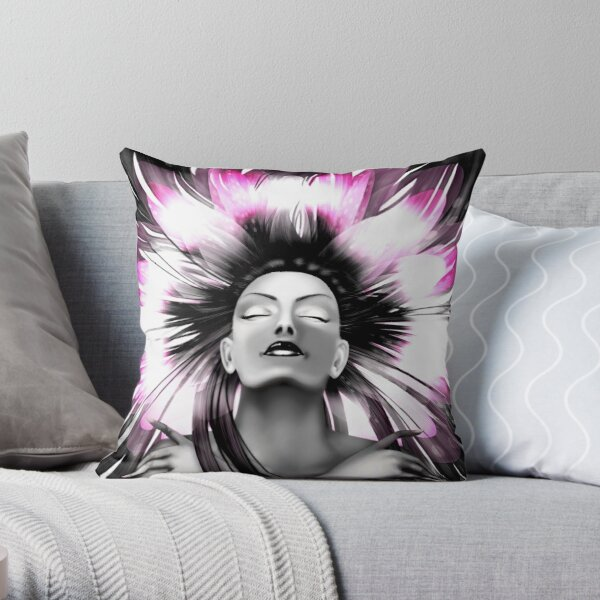 Kundalini Throw Pillow